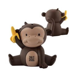 Mickey the Monkey PVC Coin Bank