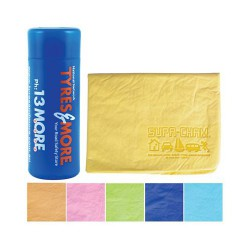 Embossed Supa Cham Chamois/Body Towel in Tube
