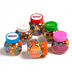 Plastic Jar Filled with Mints 170G