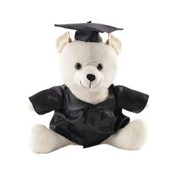 Graduation Signature Calico Bear - Indent Only