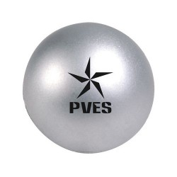 Silver Round Ball Stress Reliever