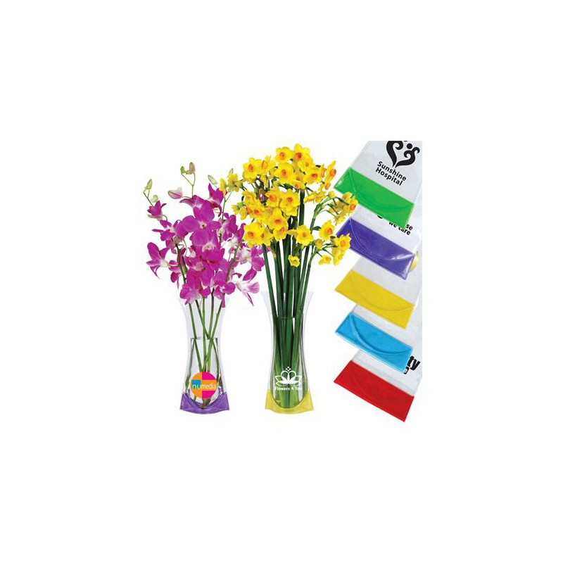 Flexi Pvc Vase Branded Promotional Dining And Decorating Ll7000s