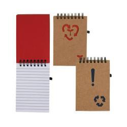 Die Cut Cardboard Notebook