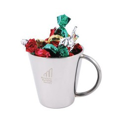 Toffees in Double Wall Stainless Steel Cup