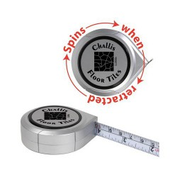 Spinning Logo Tape Measure