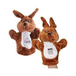 Plush Kangaroo Hand Puppet