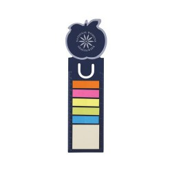 Apple Dye Cut Bookmark / Ruler with Noteflags