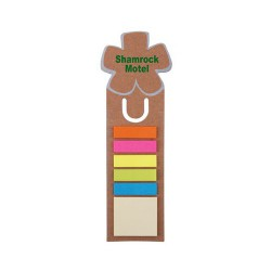 Clover Dye Cut Bookmark / Ruler with Noteflags