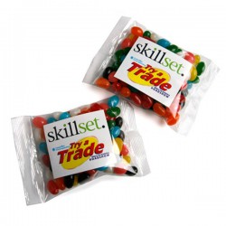 Jelly Beans Bag 100G (Mixed or Corporate Colours)
