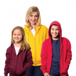 Women's/Junior's Zippered Hoodie