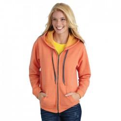 Heavy Blend Vintage Classic Missy Fit Full Zip Hooded Sweatshirt