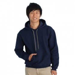 Premium Cotton Adult Ring Spun Hooded Sweatshirt