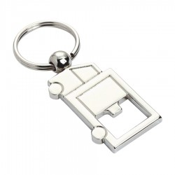 Metal Key Ring Bottle Opener Truck
