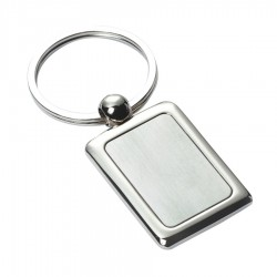 Metal Key Ring Rectangle