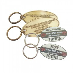 Custom Metal Keyring