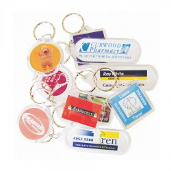 Rectangular Acrylic Keyring (includes full colour process)