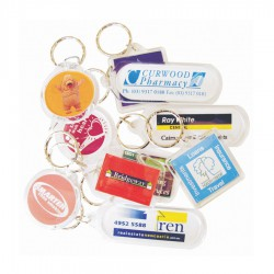 Round Acrylic Keyring (includes full colour process)