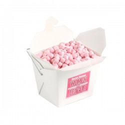 White Cardboard Noodle Box with Mints or Musks 100G