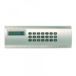 Calculator Ruler Combo