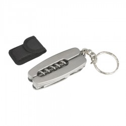 Mini Cork Screw Keyring
