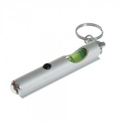 Spirit Level and Torch Keyring