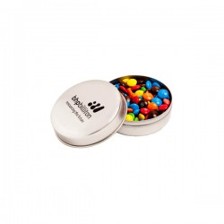 Candle Tin Filled with M&Ms 50G