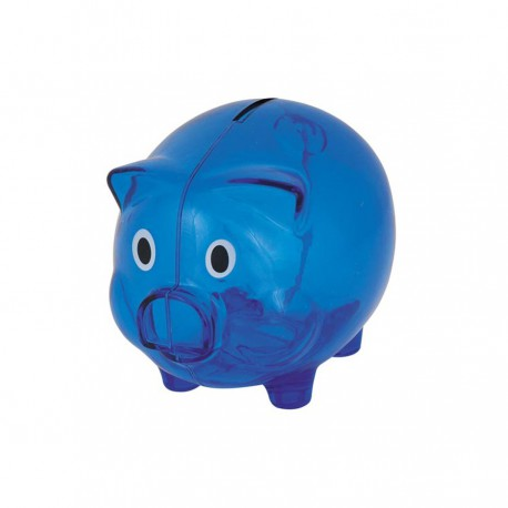 Acrylic piggy bank branded promotional money boxes g971 for Large piggy bank with lock