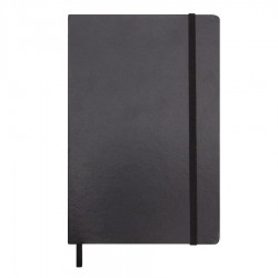 City A5 Notebook with Elastic Closure