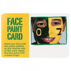 Face Paint Card