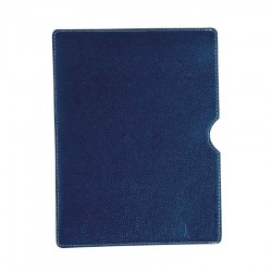 Cotton Leather Ipad Slip Case