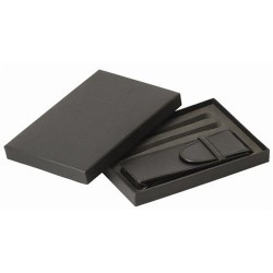 Black Gift Box and Pouch