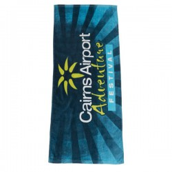 Fibre Reactive Printed Sports Towel