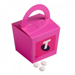 Coloured Noodle Box Filled with Mints 100G