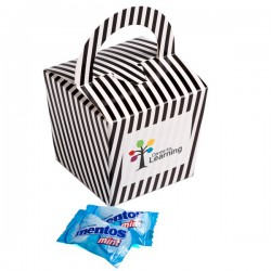 Coloured Noodle Box Filled with Mentos X26