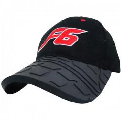 Cap with Tyre Tread peak
