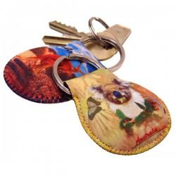 Neoprene key ring