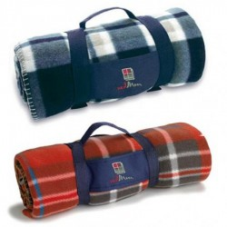 Polar Fleece Travel Blanket