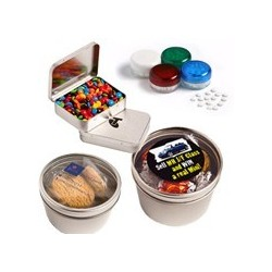 Sweets in Tin Packs