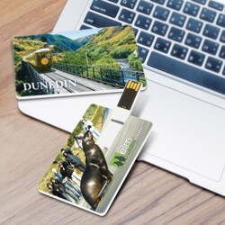 Credit Card Style USB Flash Drives